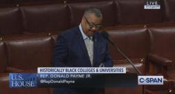 Rep. Payne, Jr. Highlights Bloomfield College, Advocates for the Future Act on C-Span