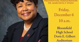 Live Stream the Inauguration of Dr. Marcheta P. Evans, 17th President of Bloomfield College