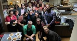 Bloomfield College Community Hosted Two Special Thanksgiving Meals