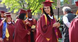 Bloomfield College ranked #9 in getting more students to graduate