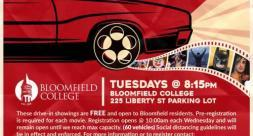 Drive-in Movie Scheduled at the College