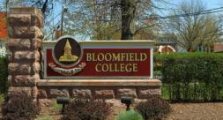 Bloomfield College Logo Wall